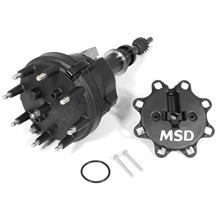 Mustang MSD 5.0L Ready-To-Run Distributor  - Black (86-93)