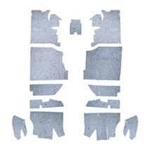 Quietride Mustang AcoustiShield Floor Insulation Kit (94-04) Convertible MUST 9404-CVFK
