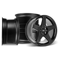 Mustang 03 Cobra Style Wheel Kit - 17x9  - Black (79-93)