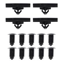 Mustang 14 Piece Rocker Molding Hardware Kit  (1999)