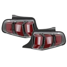 Mustang 2018 Style Sequential LED Tail Light Kit  - Red (10-12)