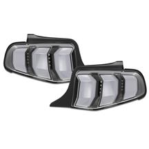 Mustang 2018 Style Sequential LED Tail Light Kit  - White (10-12) LT-MST10JMLED-TM