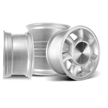 Mustang 93 Cobra Wheel Kit - 17x8.5  - Silver (79-93)
