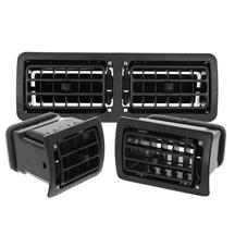 Mustang A/C Vent Register Kit  - Black (87-93)