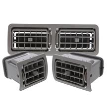Mustang A/C Vent Register Kit  - Gray (87-93)