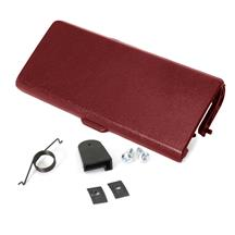Mustang Ash Tray Door And Repair Kit Red (87-93)