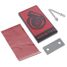 Mustang Boosted Emblem  - Red w/ Black (15-20)