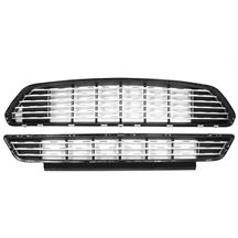 Mustang California Special Style Grille Kit  - Silver (15-17)