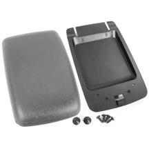 Mustang Center Console Arm Rest Pad Kit Smoke Gray  (87-93)