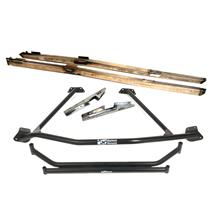 Mustang Chassis Brace Package Black (86-93) Coupe/Hatchback