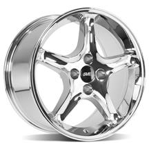 Mustang SVE Cobra R Wheel - 17x9  - Chrome (79-93)