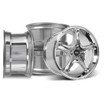 Mustang SVE Cobra R Wheel Kit - 17x9  - Chrome (79-93)
