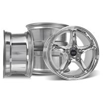 Mustang SVE Cobra R Wheel Kit - 17x9  - Chrome (94-04)
