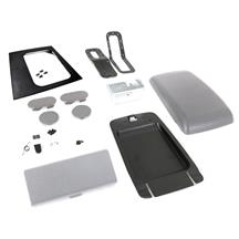 Mustang Complete Console Resto Kit  - Smoke Gray - Auto (87-93)