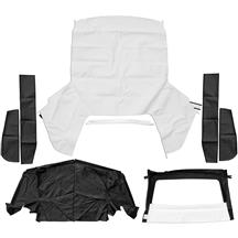 Mustang Convertible Top Kit - White (1993)
