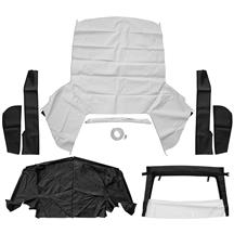 Mustang Convertible Top Kit - White (83-90)