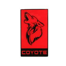 Mustang Coyote Grille Emblem  - Red w/ Black (15-19)