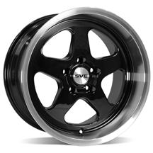 Mustang SVE Saleen SC Style Wheel - 17x10 Black  (94-04)
