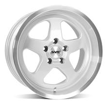 Mustang SVE Saleen SC Style Wheel - 17X10 Silver (94-04)