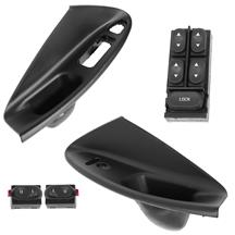Mustang Door Panel Insert and Switch Kit  - Convertible (94-04)