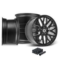 Mustang Downforce DC10 Wheel Kit - 20x9/10 - Gloss Black  (15-20)