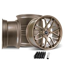 Mustang Downforce Wheel Kit - 20x8.5/10  - Satin Bronze (15-20)
