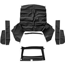 Mustang Economy Convertible Top Kit  - Black (91-93)