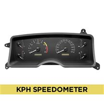 Mustang Factory Inspired Digital Gauge Cluster  - KPH (87-89)