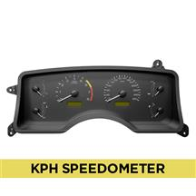 Mustang Factory Inspired Digital Gauge Cluster  - KPH (90-93)