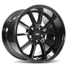 Mustang SVE FR500 Wheel - 17x10.5  - Gloss Black (94-04)