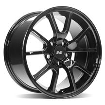 Mustang SVE FR500 Wheel - 17x9  - Gloss Black (94-04)