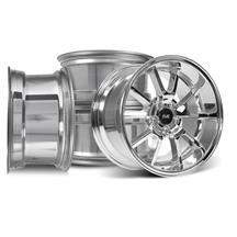 Mustang SVE FR500 Wheel Kit - 17x9/10.5  - Chrome (94-04)