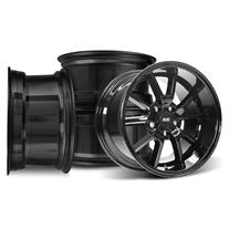 Mustang SVE FR500 Wheel Kit - 17x9/10.5  - Gloss Black (94-04)