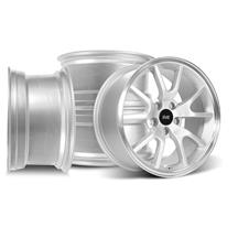 Mustang SVE FR500 Wheel Kit - 17X9/10.5  - Silver (94-04)