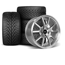 Mustang FR500 Wheel & Tire Kit - 17x9  - Anthracite - Sumitomo Tires  (94-04)