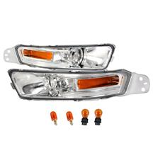 Mustang Front Bumper Park Lights  - Clear  (05-09)