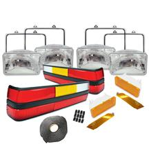 Mustang Headlight & Tail Light Resto Kit (83-84)
