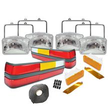 Mustang Headlight & Tail Light Resto Kit (85-86)
