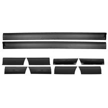 Mustang LX 10-Piece Body Side Molding Kit (87-90)