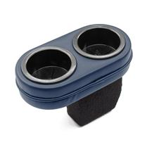 Mustang Plug And Chug Drink Holder  - Dark Blue (87-93)