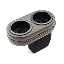 Mustang Plug And Chug Drink Holder  - Titanium Gray (90-92)