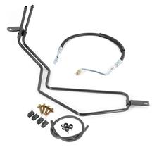 Mustang Power Steering Cooler Tube & Hose Kit (87-89) 5.0