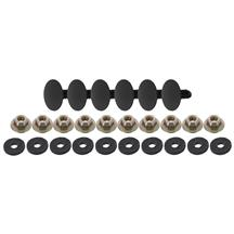 Mustang Rear Bumper Hardware Kit (87-93)