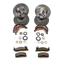 Mustang Replacement Brake Kit (83-86) 5.0/2.3