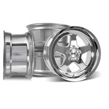 Mustang SVE Saleen SC Style Wheel 17X9/10 Chrome  (94-04)