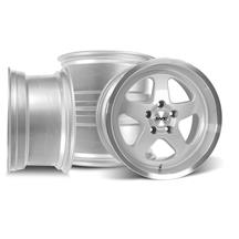 Mustang SVE Saleen SC Style Wheels 17x9/10 Silver (94-04)