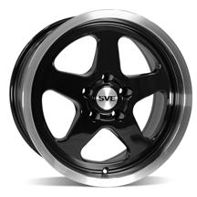 Mustang SVE Saleen SC Style Wheel - 17X9 Black  (94-04)