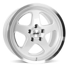 Mustang SVE Saleen SC Style Wheel - 17X9 Silver (94-04)