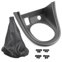 Mustang Shift Boot & Bezel Kit  - Leather  (99-00)
