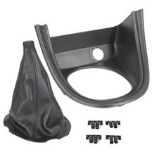 Mustang Shift Boot & Bezel Kit  - Synthetic Leather  (01-04)
